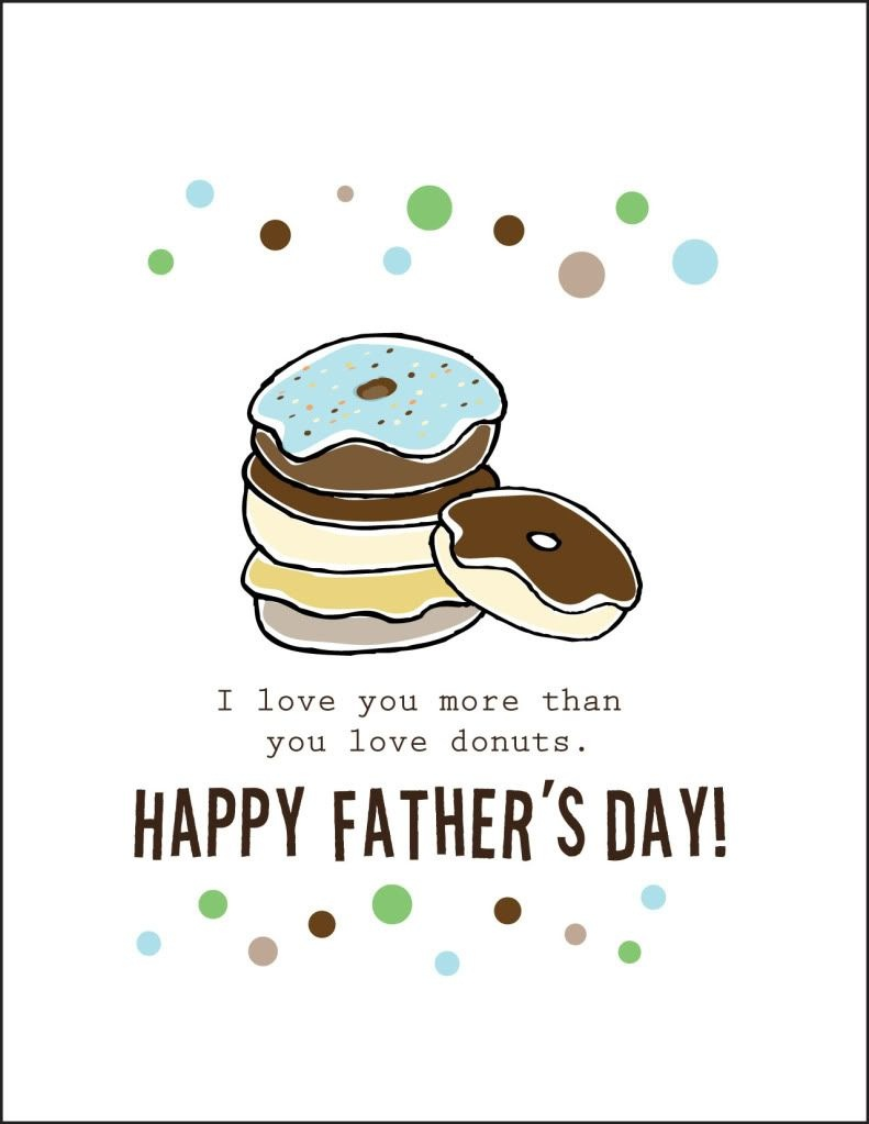 Free Printable Fathers Day Cards    Cardstock Paper Will Print 2 - Free Happy Fathers Day Cards Printable