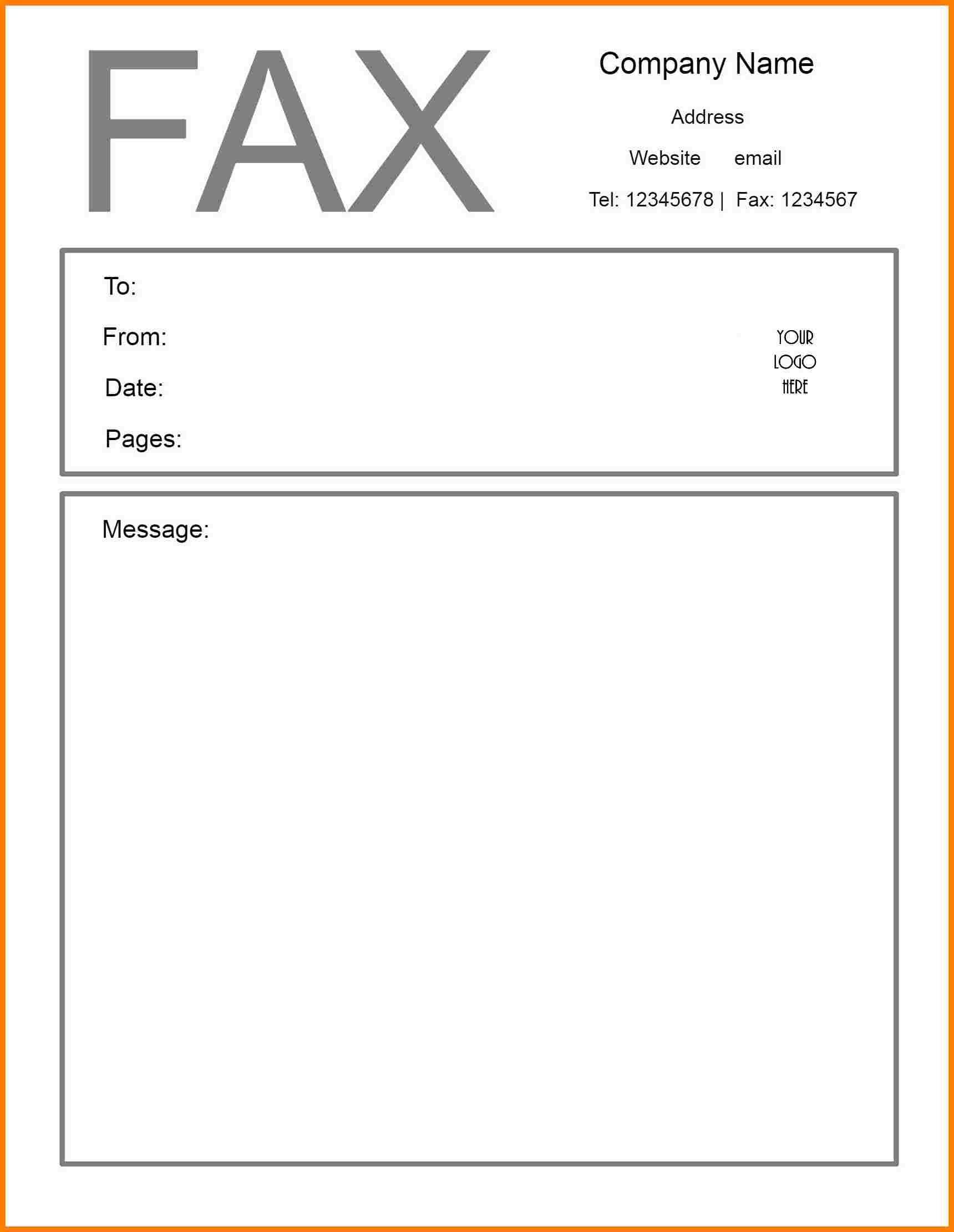 Free Printable Fax Cover Sheet   Printable Fax Cover Sheet - Free Printable Cover Letter For Fax