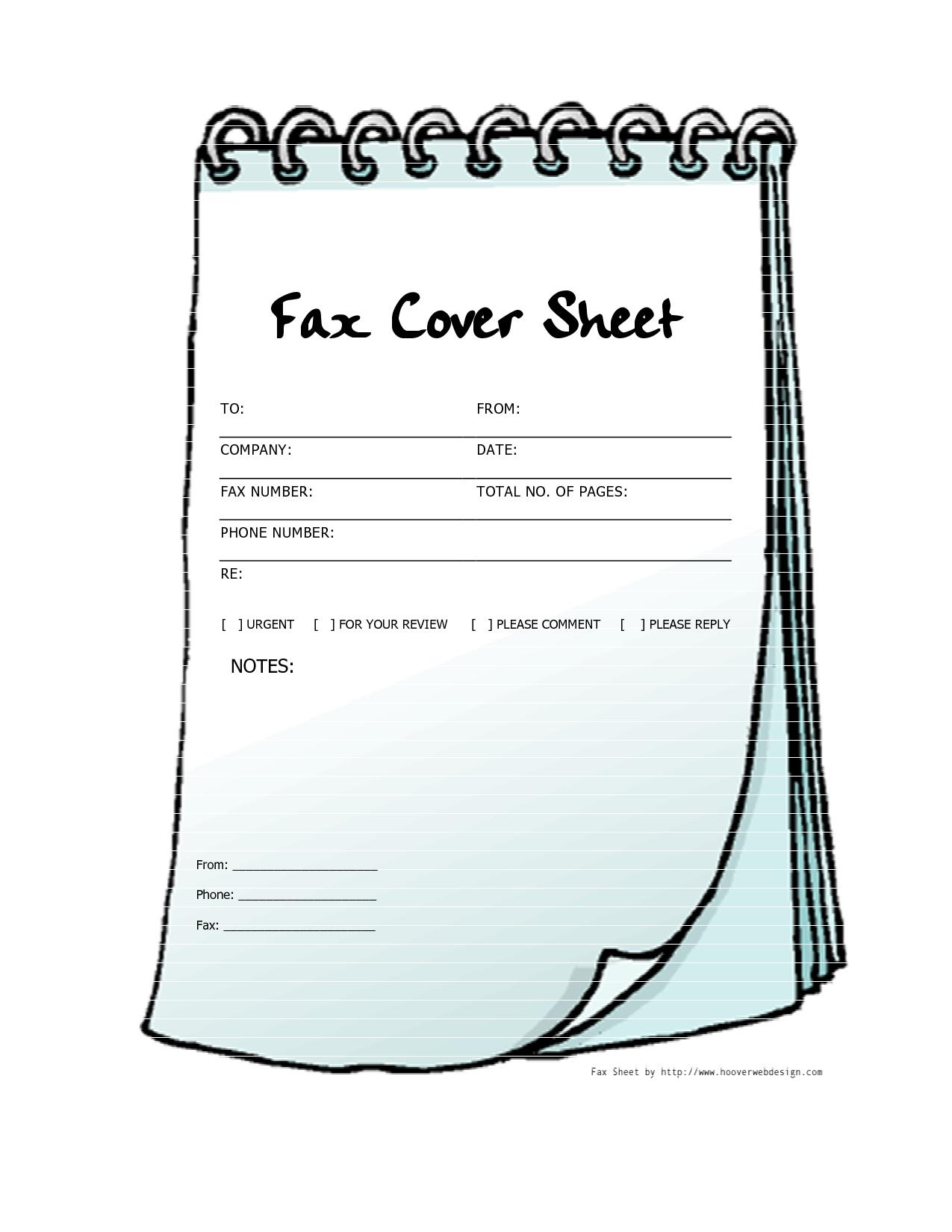 Free Printable Fax Cover Sheets   Free Printable Fax Cover Sheet - Free Printable Fax Cover Sheet