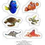 Free Printable Finding Dory Birthday Party Decorations #findingdory   Free Nemo Printables