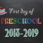 Free Printable First & Last Day Of School Signs 2018 2019   Neatlings   Free First Day Of School Printables 2018