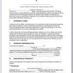 Free Printable Florida Last Will And Testament Form   Form : Resume   Free Printable Last Will And Testament Blank Forms Florida