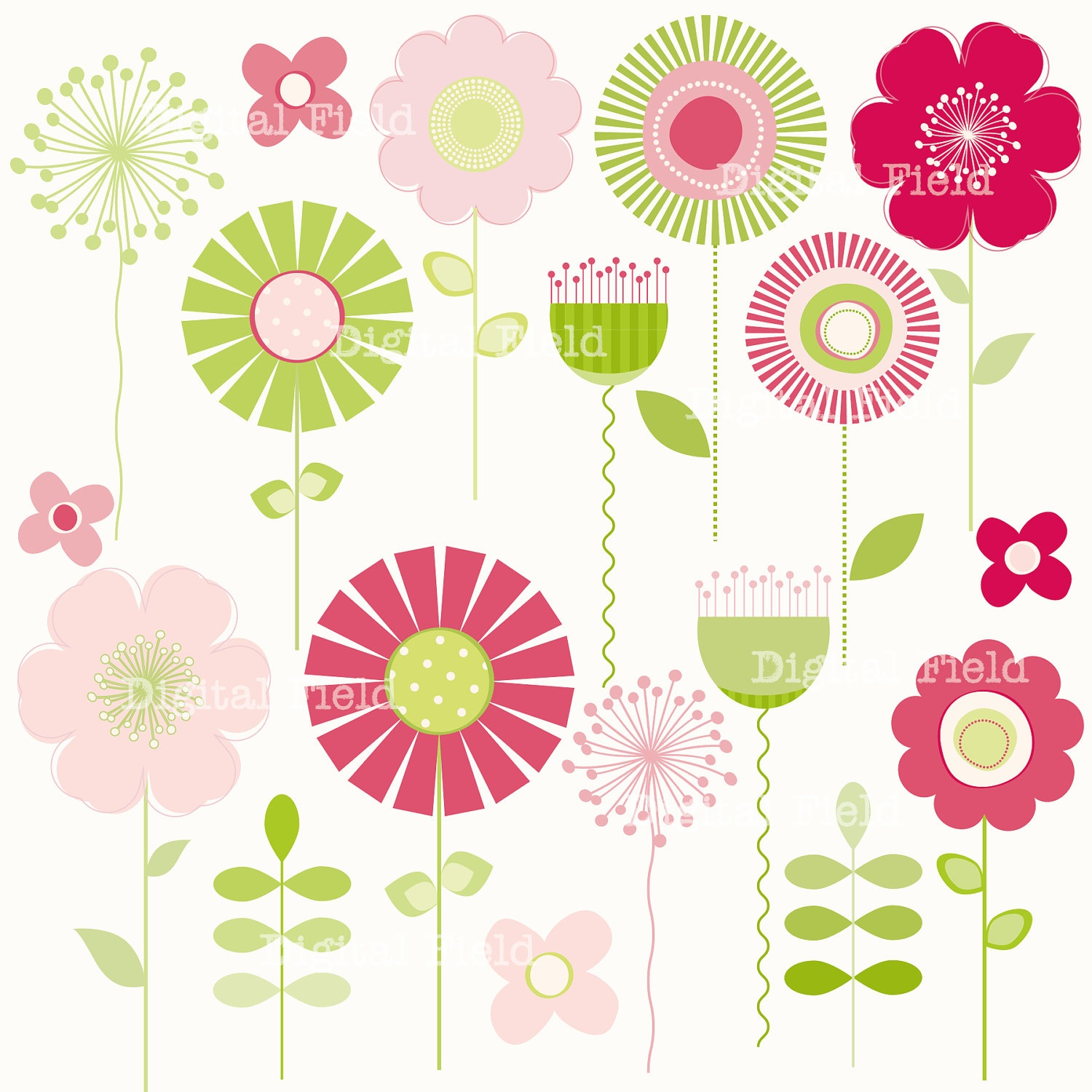 Free Printable Flower Cliparts, Download Free Clip Art, Free Clip - Free Printable Clipart Of Flowers