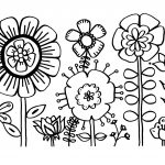 Free Printable Flower Coloring Pages For Kids   Best Coloring Pages   Free Printable Flowers