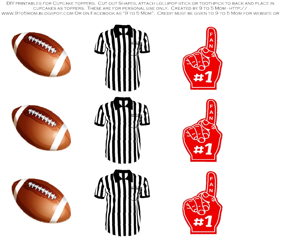 Free Printable Footballs, Download Free Clip Art, Free Clip Art On - Free Football Printables