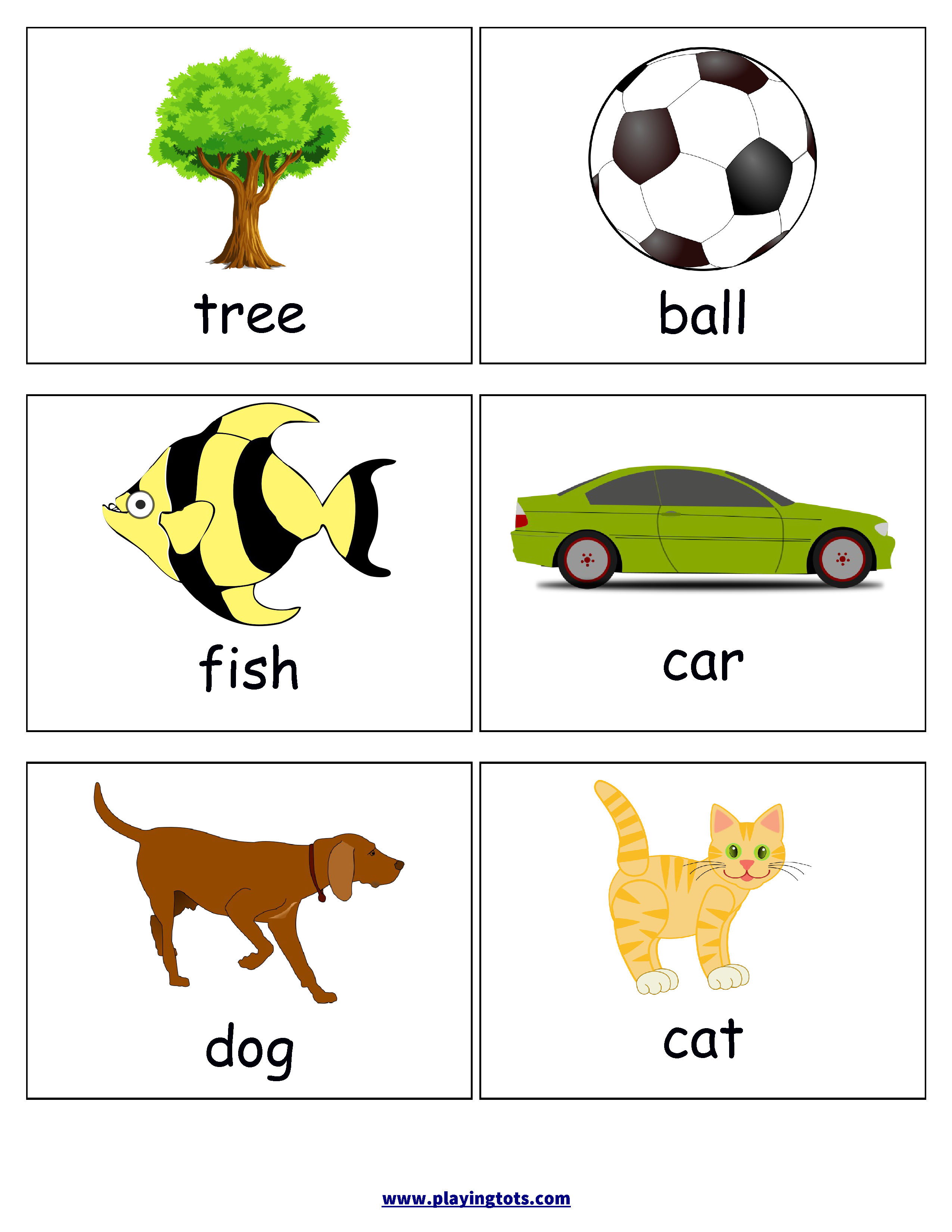 Free Printable For Kids (Toddlers/preschoolers) Flash Cards/charts - Free Printable Rhyming Words Flash Cards