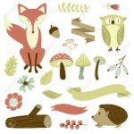 Free Printable Forest Animal Silhouettes   Google Search | Classroom   Free Printable Woodland Animal Templates