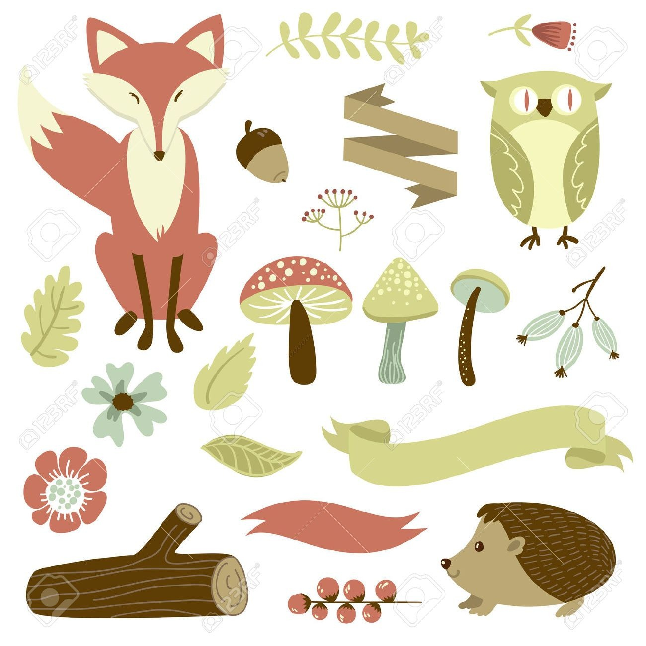 Free Printable Forest Animal Silhouettes - Google Search | Classroom - Free Printable Woodland Animal Templates