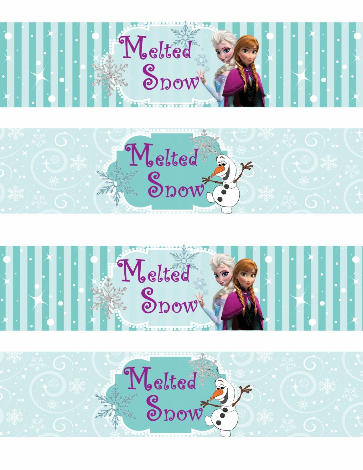 Free Printable Frozen Labels. - Oh My Fiesta! In English - Free Printable Disney Address Labels