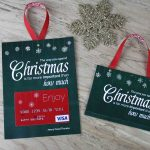 Free Printable| Gift Card Holder Spend Christmas   Create Your Own Free Printable Christmas Cards