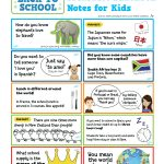 Free Printable! Global Lunchbox Notes   Little Passports   Free Printable School Notes
