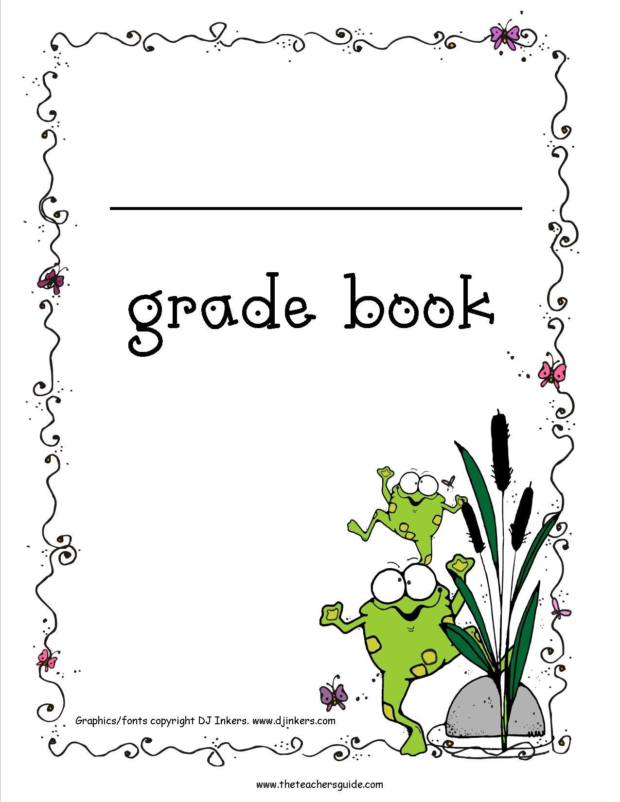 Free Printable Grade Books - Free Printable Gradebook Sheets For Teachers