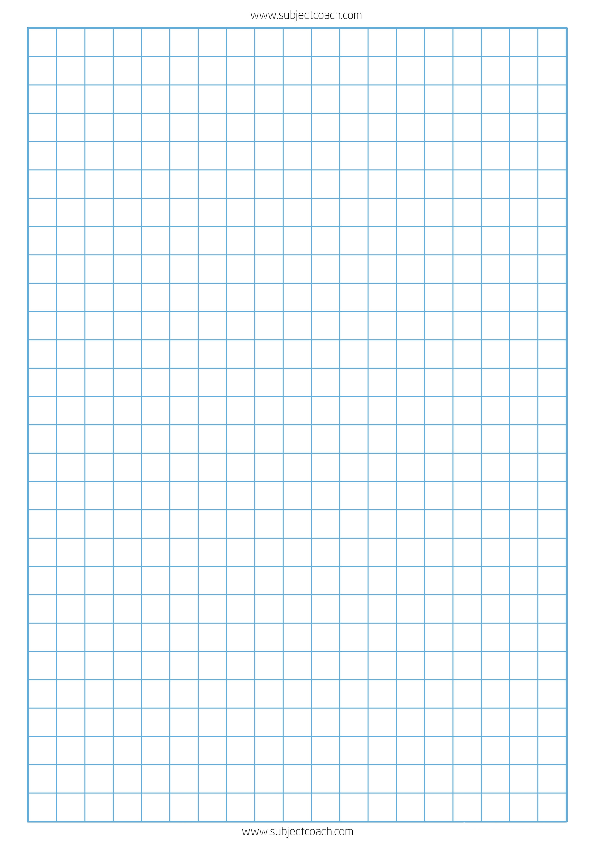 Free Printable Graph Paper 1Cm For A4 Paper | Subjectcoach - Free Printable Grid Paper