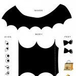 Free, Printable Halloween Activity For Kids: Create Your Own Bat   Free Printable Halloween Decorations