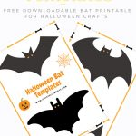 Free Printable Halloween Bat Cut Out Template For Crafts And Decor   Halloween Crafts For Kids Free Printable
