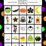 Free Printable Halloween Bingo Cardscrazy Little Projects   Free Printable Halloween Bingo