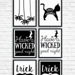 Free Printable Halloween Decorations To Spruce Up Your Holiday   Free Printable Halloween Decorations