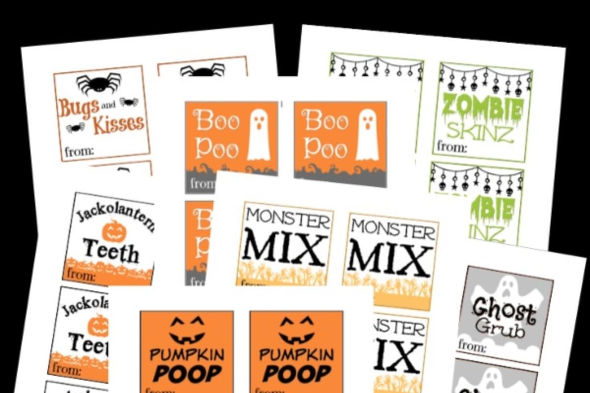 Free Printable Halloween Goodie Bag Labels - Nerdy Mamma - Free Printable Halloween Labels For Treat Bags