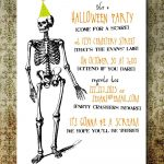 Free Printable Halloween Invitation Templates | Free Printable   Free Printable Halloween Invitations For Adults