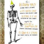 Free Printable Halloween Invitation Templates | Free Printable   Halloween Party Invitation Templates Free Printable