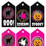 Free Printable Halloween Labels And Tags   Free Printable Halloween Tags