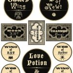 Free Printable Halloween Labels   Potions | Halloween Decor   Free Printable Halloween Bottle Labels