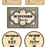 Free Printable Halloween Labels   Potions   The Graphics Fairy   Free Printable Halloween Bottle Labels