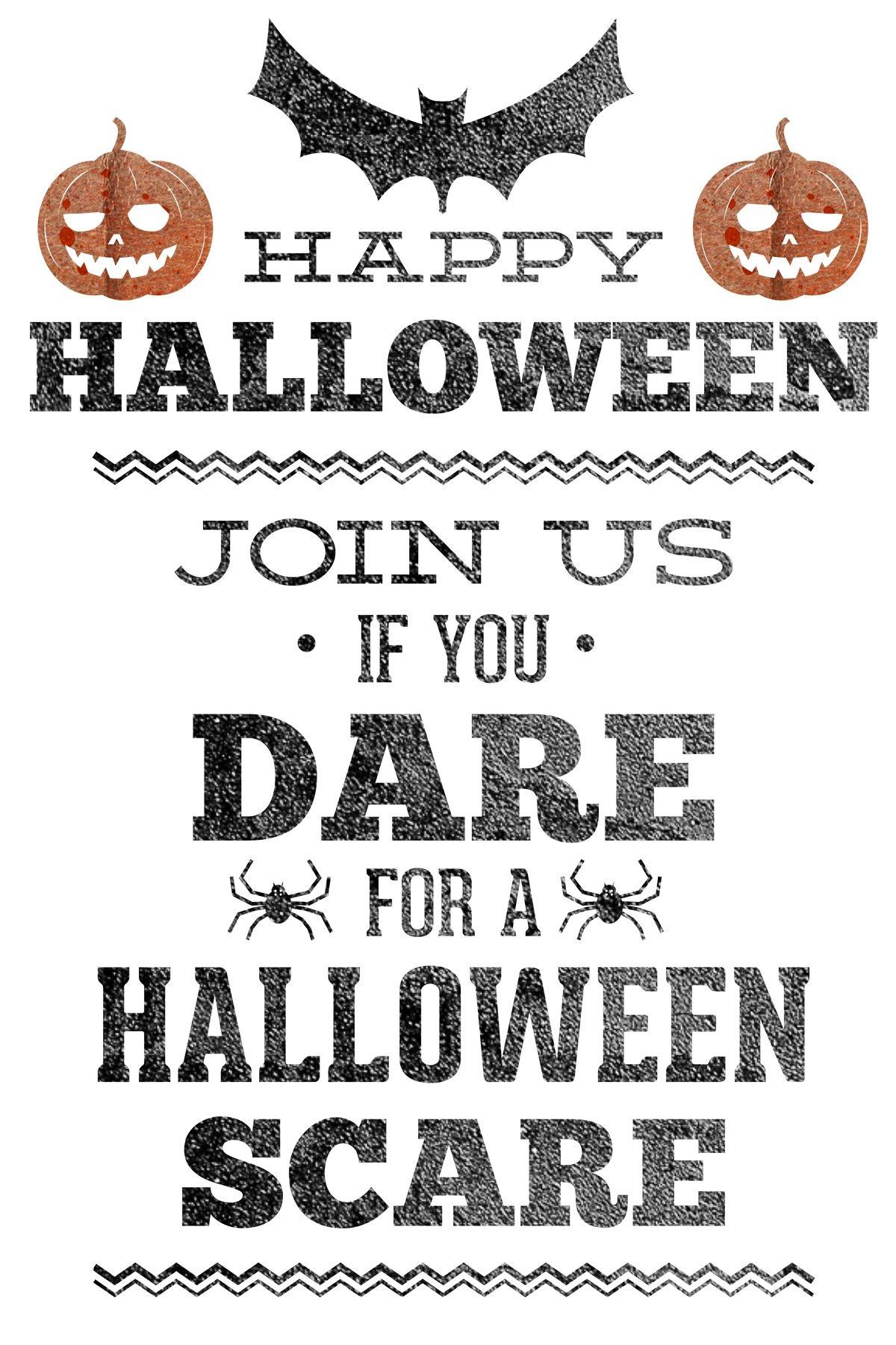 Free Printable Halloween Party Invitation   Halloween Printables 2 - Free Printable Halloween Party Invitations