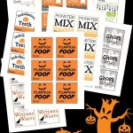 Free Printable Halloween Tags For Treat Bags   Free Printable Trick Or Treat Bags