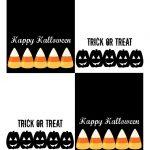 Free Printable Halloween Treat Bag Toppers | Halloween Printables 4   Free Printable Trick Or Treat Bags