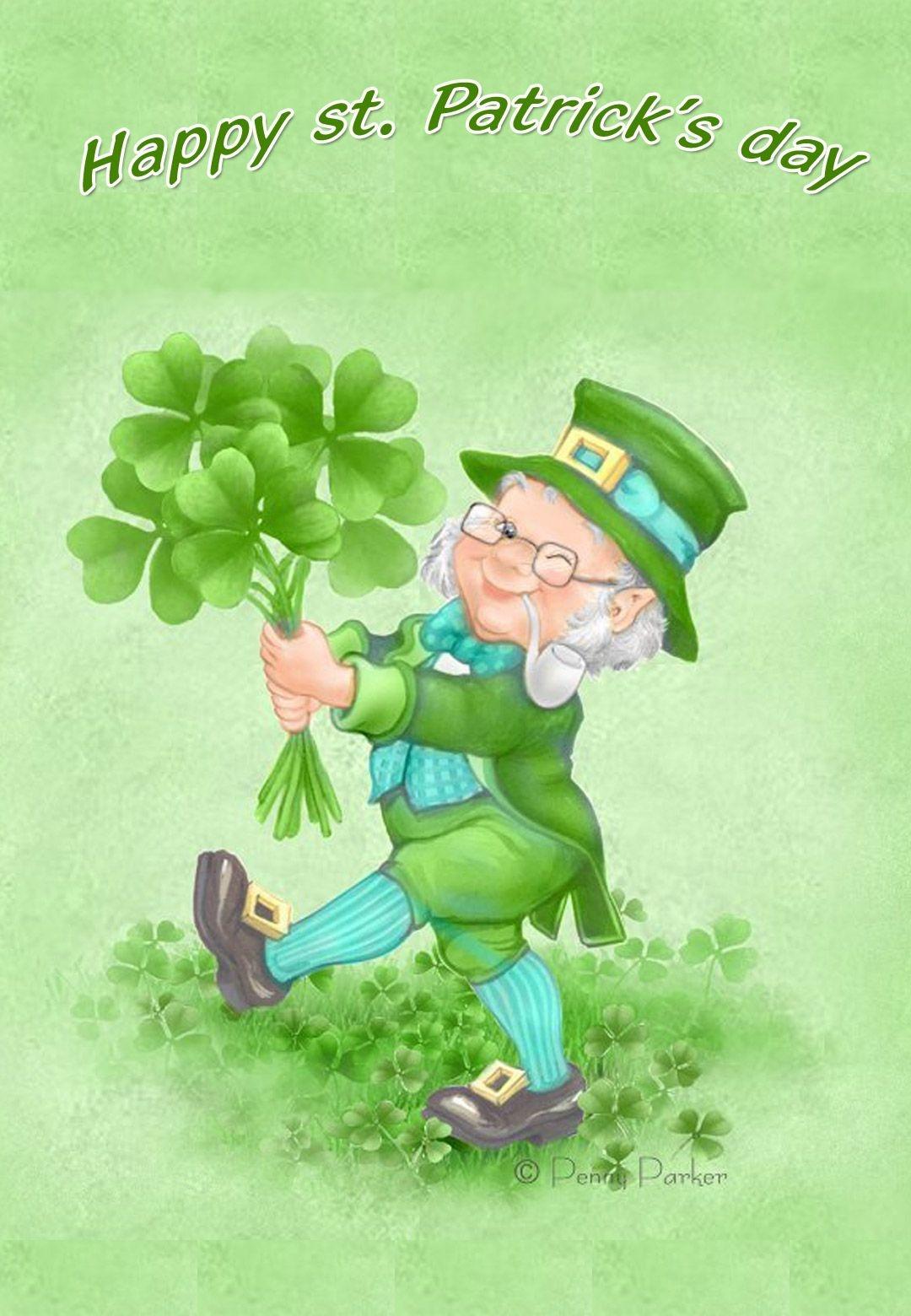 Free Printable Happy St Patricks Day Greeting Card | Printable St - Free Printable St Patrick's Day Greeting Cards