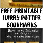 Free Printable Harry Potter Bookmarks | {Not Quite} Susie Homemaker   Free Printable Harry Potter Pictures