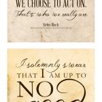 Free Printable Harry Potter Quotes | The Cottage Market   Free Printable Harry Potter Pictures