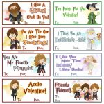 Free Printable Harry Potter Valentines | Being Genevieve   Free Printable Harry Potter Pictures
