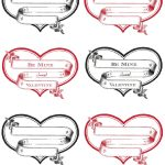 Free Printable Heart Labels | Valentines Day | Valentine Images   Free Printable Heart Labels