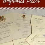 Free Printable Hogwarts Letter   Housewife Eclectic   Hogwarts Acceptance Letter Template Free Printable