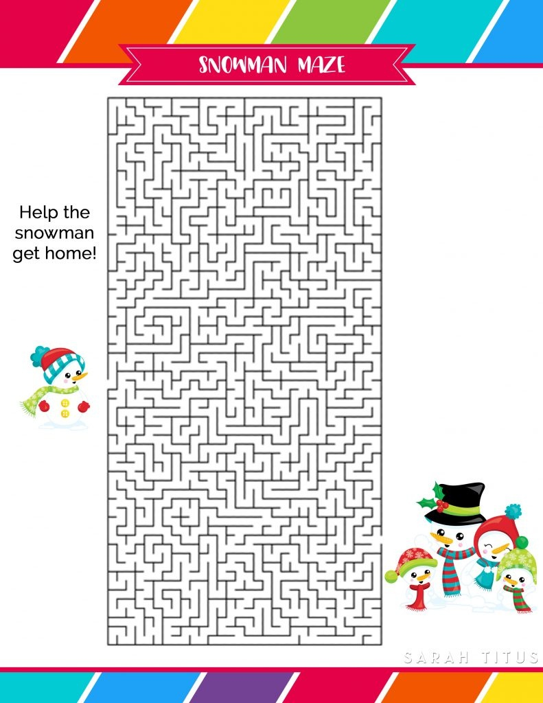 Free Printable Holiday Games That You Will Love - Sarah Titus - Free Printable Christmas Games For Adults