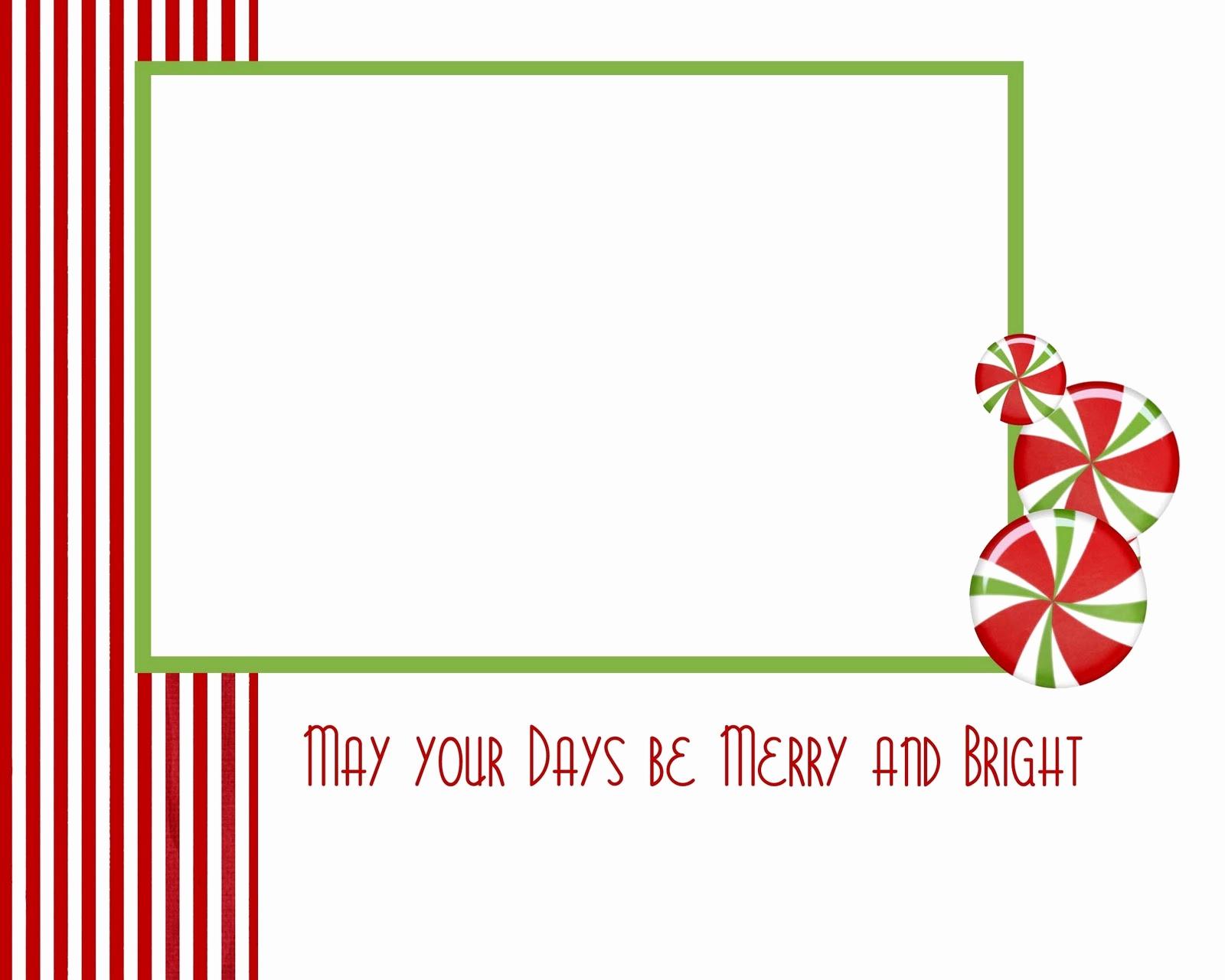 Free Printable Holiday Photo Card Templates Best Of Christmas Card - Free Printable Christmas Card Templates