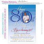 Free Printable Invitations For 80Th Birthday Party | Party In 2019   Printable Invitations Free No Download