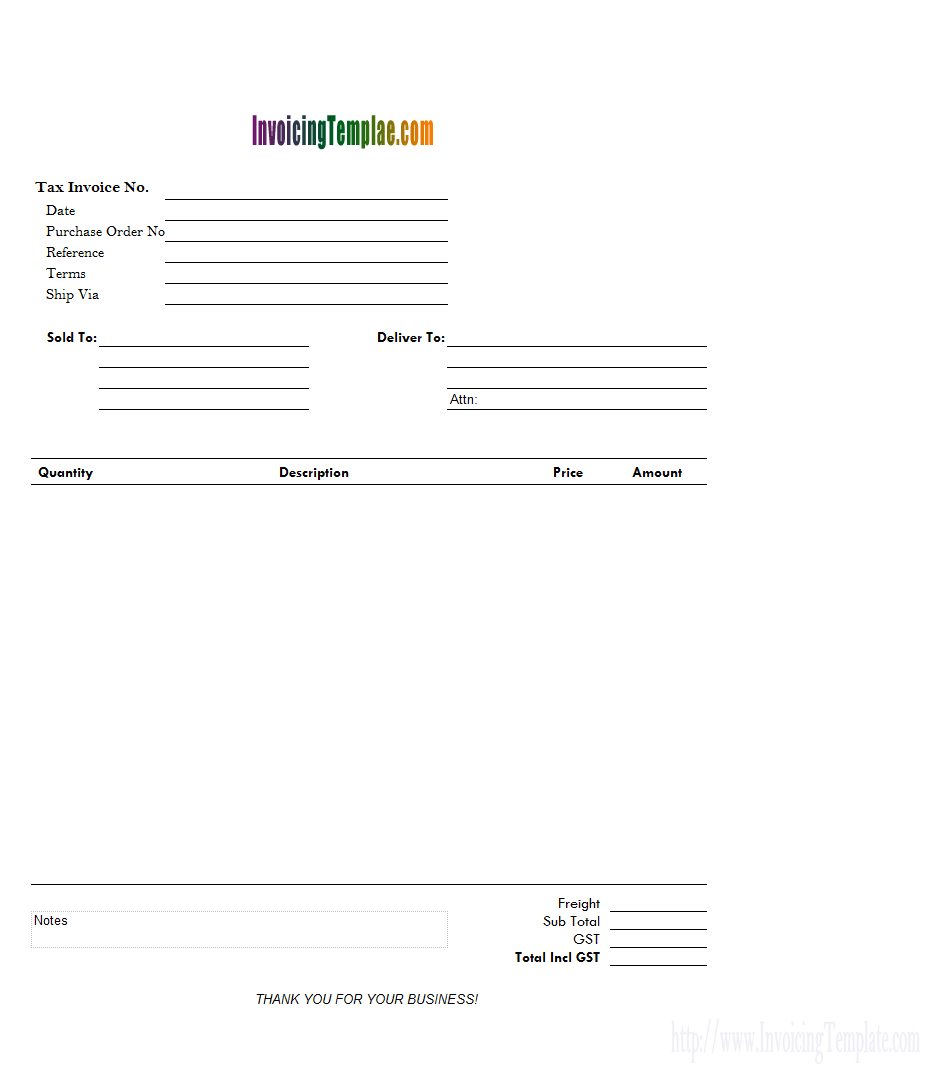 Free Printable Invoice Templates - 20 Results Found - Free Printable Invoice Template Excel