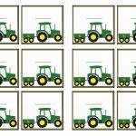 Free Printable John Deer Tractor Themed Name Tags | Themed Name Tags   Free Printable John Deere Birthday Invitations