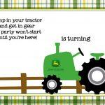 Free Printable John Deere Tractor Birthday | Birthday Invitation   Free Printable John Deere Birthday Invitations
