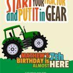 Free Printable John Deere Tractor Birthday Invitation Template   Free Printable John Deere Birthday Invitations