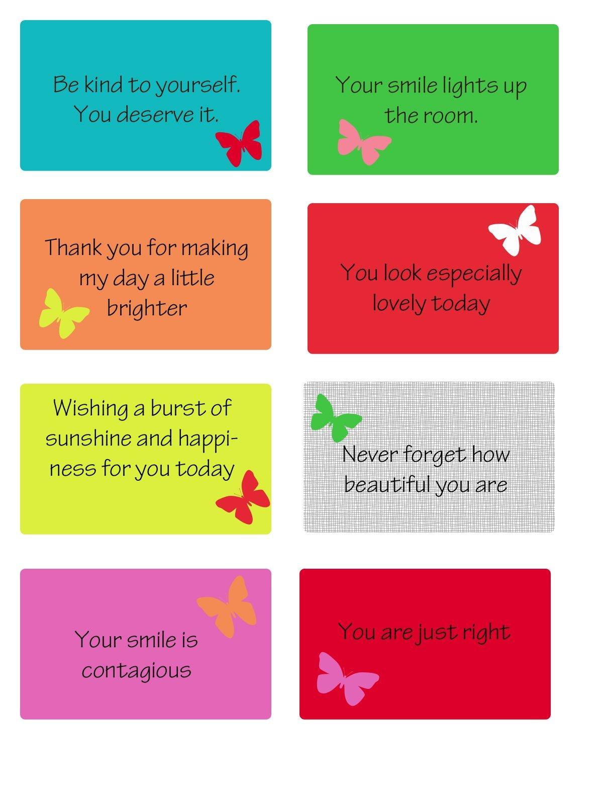 Free Printable Kindness Cards | Random Love | Kindness Notes - Free Printable Kindness Cards