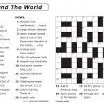 Free Printable Large Print Crossword Puzzles | M3U8   Free Printable Crossword Puzzles