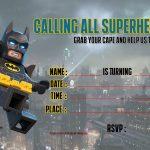 Free Printable Lego Batman The Movie Invitation | Free Printable   Free Printable Lego Batman
