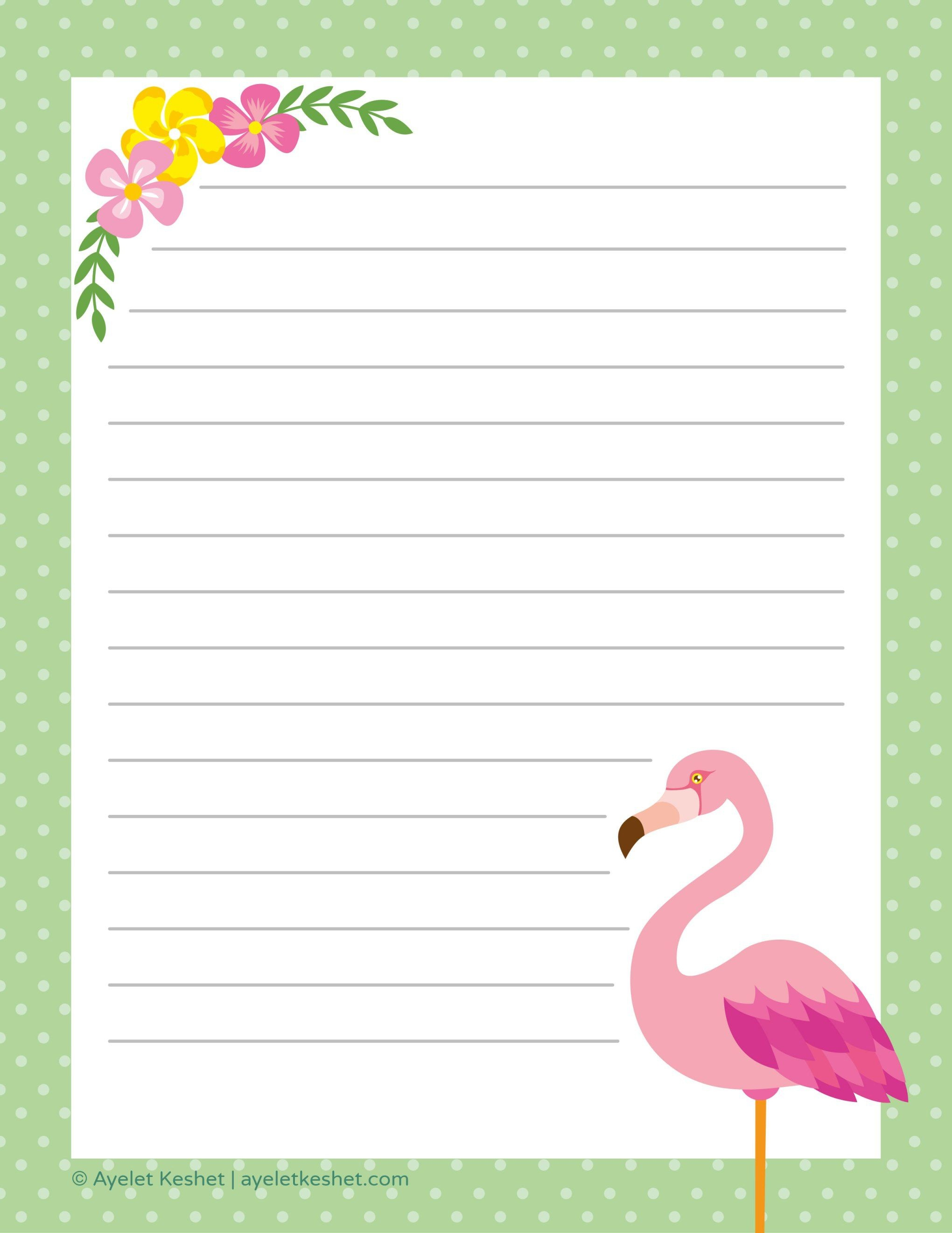 Free Printable Letter Paper | Printables To Go | Free Printable - Free Printable Golf Stationary