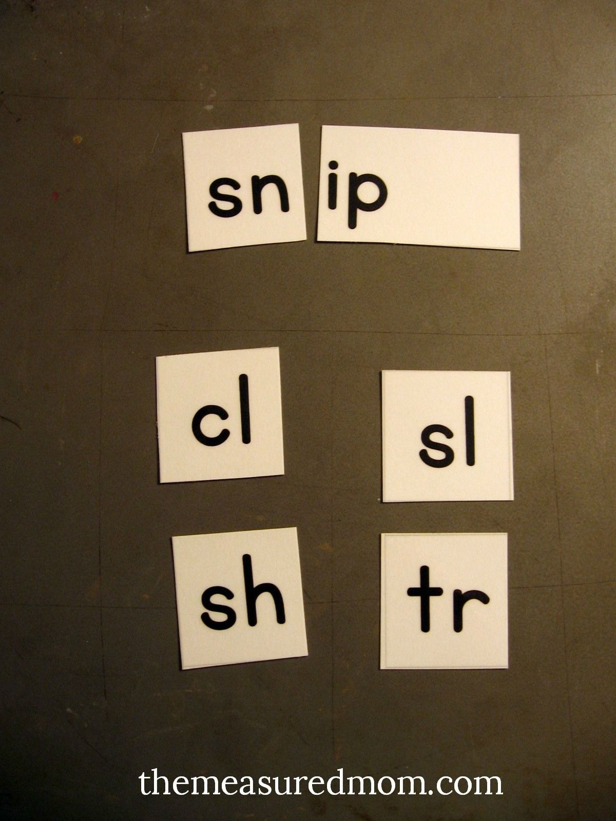 Free Printable Letter Tiles For Digraphs, Blends, And Word Endings - Wilson Reading Free Printables