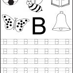 Free Printable Letter Tracing Worksheets For Kindergarten – 26   Free Printable Preschool Worksheets Tracing Letters