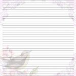 Free Printable Lined Stationary | Printable Writing Paper (67)   Free Printable Lined Stationery